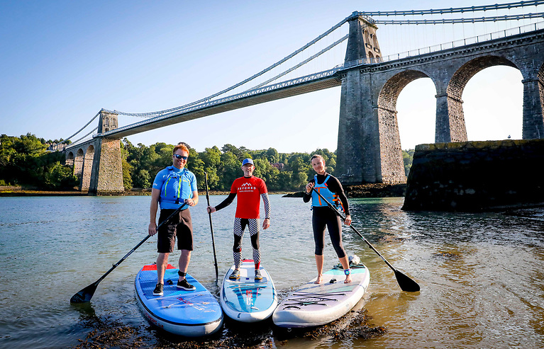 Paddleboarding is so accessible – you can fit one in or on the car and you can get started easily because it is relatively simple to master
