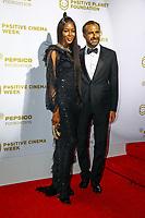 Naomi Campbell, photocall d'arrivée pour la cérémonie de remise des prix de la Fondation Positive Planet de Jacques Attal, lors du soixante-dixième (70ème) Festival du Film à Cannes, Palm Beach, Cannes, Sud de la France, mercredi 24 mai 2017.