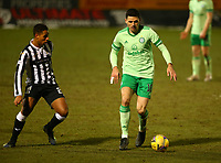 10th February 2021; St Mirren Park, Paisley, Renfrewshire, Scotland; Scottish Premiership Football, St Mirren versus Celtic; Tom Rogic of Celtic takes on Ethan Erhahon of St Mirren