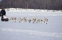 Jim Lanier on Yukon River on Way to Nulato