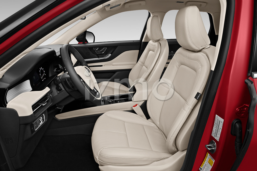 Front seat view of 2021 Lincoln Corsair - 5 Door SUV Front Seat  car photos