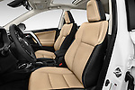 Front seat view of 2018 Toyota RAV4 Limited 5 Door SUV Front Seat  car photos