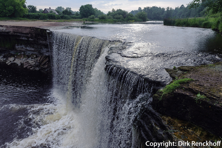 Wasserfall Jägala Juga östlich von Tallinn, Estland, Europa