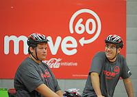 Move60 promotion at Te Rauparaha Arena, Porirua, Wellington, New Zealand on Saturday, 5 April 2014. Photo: Dave Lintott / lintottphoto.co.nz