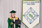 Coy, Kennan  received their diploma at Bryan Station High school on  Thursday June 4, 2020  in Lexington, Ky. Photo by Mark Mahan Mahan Multimedia