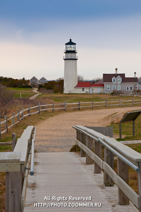 Highland Light In Truro, Cape Cod, MA