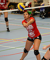 Volley Team Brugge : Dolfien De Rycke <br /> foto VDB / BART VANDENBROUCKE