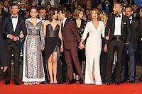 Gaspard Ulliel Lea Seydoux Marion Cotillard Xavier Dolan Nathalie Baye Vincent Cassel arrivent sur le tapis rouge pour la projection du film 'Juste la fin du monde' lors du 69ème Festival du Film à Cannes le jeudi 19 mai 2016.