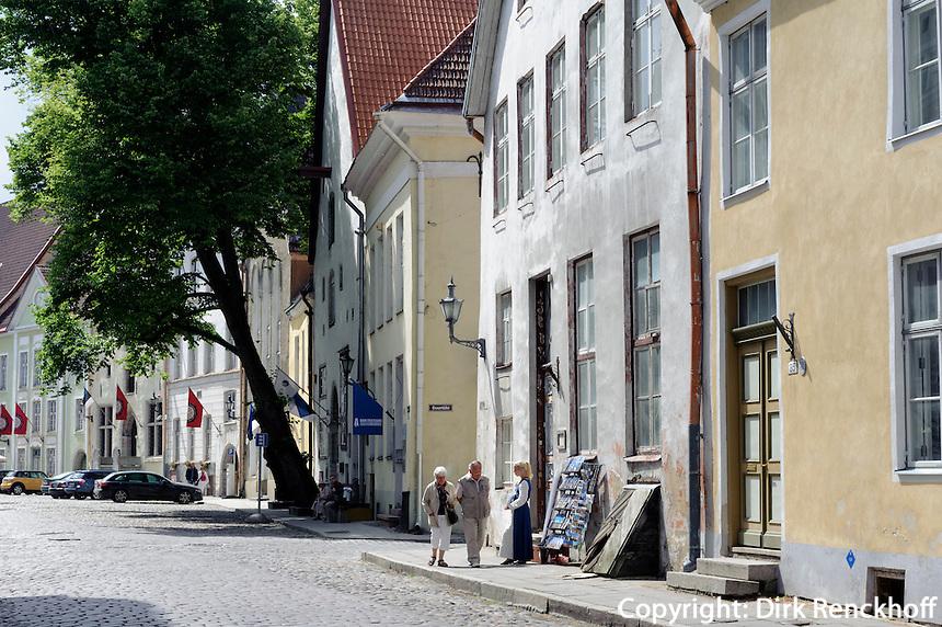 Straße Lai in Tallinn (Reval), Estland, Europa, Unesco-Weltkulturerbe