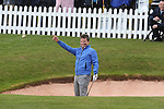 Ant & Dec showing off their golf skills during the Celebrity Golf @ Golf Live..Celtic Manor Resort.11.05.13.©Steve Pope