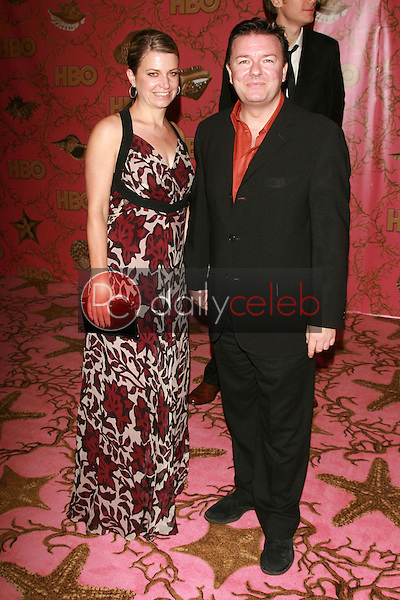 Ricky Gervais and guest<br />at the 2006 HBO Emmy After Party. Pacific Design Center, West Hollywood, CA. 08-27-06<br />Dave Edwards/DailyCeleb.com 818-249-4998