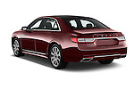 Car pictures of rear three quarter view of 2017 Lincoln Continental Reserve 4 Door Sedan Angular Rear