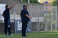 PIEDECUESTA - COLOMBIA, 21-04-2021: Real Santander y Itagüi Leones F.C., durante partido de la fase 2 vuelta por la Copa BetPlay DIMAYOR 2021 en el estadio Villa Concha en la ciudad de Piedecuesta. / Real Santander and Itagüi Leones F.C., during a match of the phase 2 second leg for the BetPlay DIMAYOR 2021 Cup at the Villa Concha stadium in Piedecuesta city. / Photo: VizzorImage / Jaime Moreno / Cont.