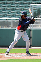 GCL Twins second baseman Jonatan Ninojosa (41) during a game against the GCL Red Sox on July 19, 2013 at JetBlue Park at Fenway South in Fort Myers, Florida.  GCL Red Sox defeated the GCL Twins 4-2.  (Mike Janes/Four Seam Images)