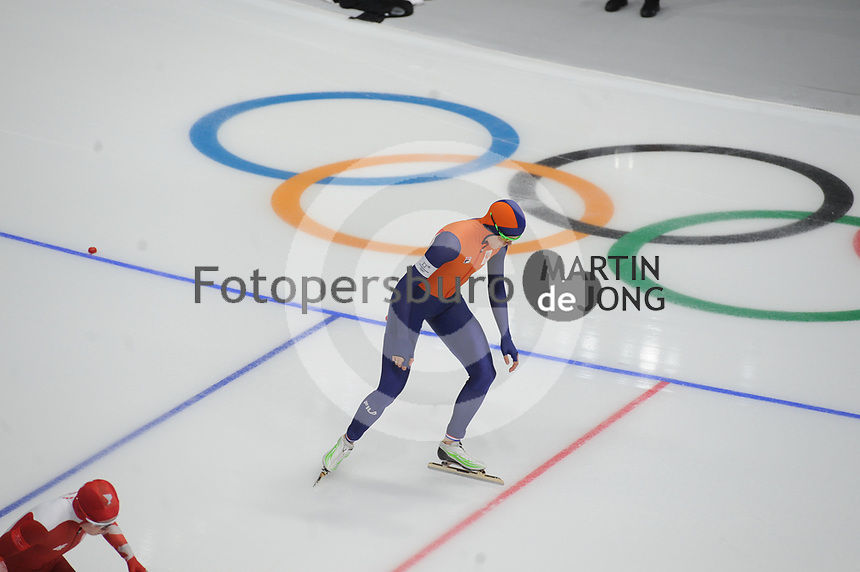 OLYMPIC GAMES: PYEONGCHANG: 18-02-2018, Gangneung Oval, Long Track, 500m Ladies, Jorien ter Mors NED), ©photo Martin de Jong