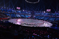 OLYMPIC GAMES: PYEONGCHANG: 09-02-2018, PyeongChang Olympic Stadium, Olympic Games, Opening Ceremony, Team Czech Republic, ©photo Martin de Jong