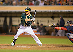 Brandon Moss<br /> Boston Red Sox at Oakland A's at O.Co coliseum in Oakland, June 20, 2014