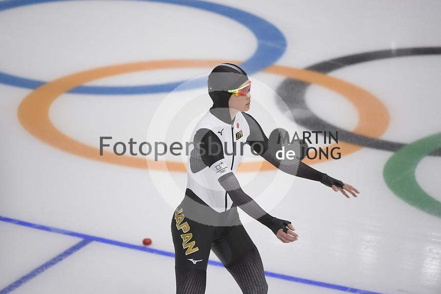 OLYMPIC GAMES: PYEONGCHANG: 18-02-2018, Gangneung Oval, Long Track, 500m Ladies, Arisa Go (JPN), ©photo Martin de Jong