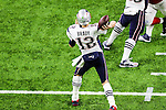 New England Patriots quarterback Tom Brady (12) in action during Super Bowl LI at the NRG Stadium in Houston, Texas.