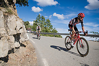 Thomas de Gendt (BEL/Lotto-Soudal) down the Col de Turini<br /> <br /> Stage 2 from Nice to Nice (186km)<br /> <br /> 107th Tour de France 2020 (2.UWT)<br /> (the 'postponed edition' held in september)<br /> <br /> ©kramon