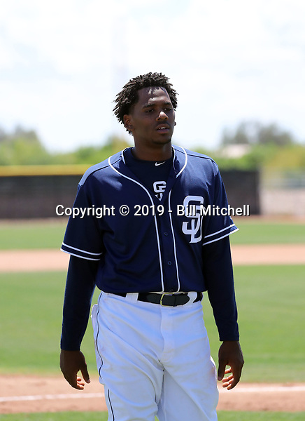 Cristian Heredia - San Diego Padres 2019 extended spring training (Bill Mitchell)