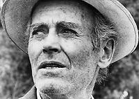The Star's Erin Combs shot actor Henry Fonda on location near Toronto.
