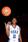 October 28, 2010. Durham, NC.. Nolan Smith. Photographs of members of the 2010-2011 Duke basketball team, who will be defending their NCAA title..