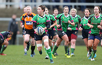 Tuesday 3rd April 2018 | Malone Women vs Ballynahinch Women<br /> <br /> Clare Douglas during the Easter Tuesday Ulster Womens final between Malone and Ballynahinch at Kingspan Stadium, Ravenhill Park, Belfast, Northern Ireland. Photo by John Dickson / DICKSONDIGITAL