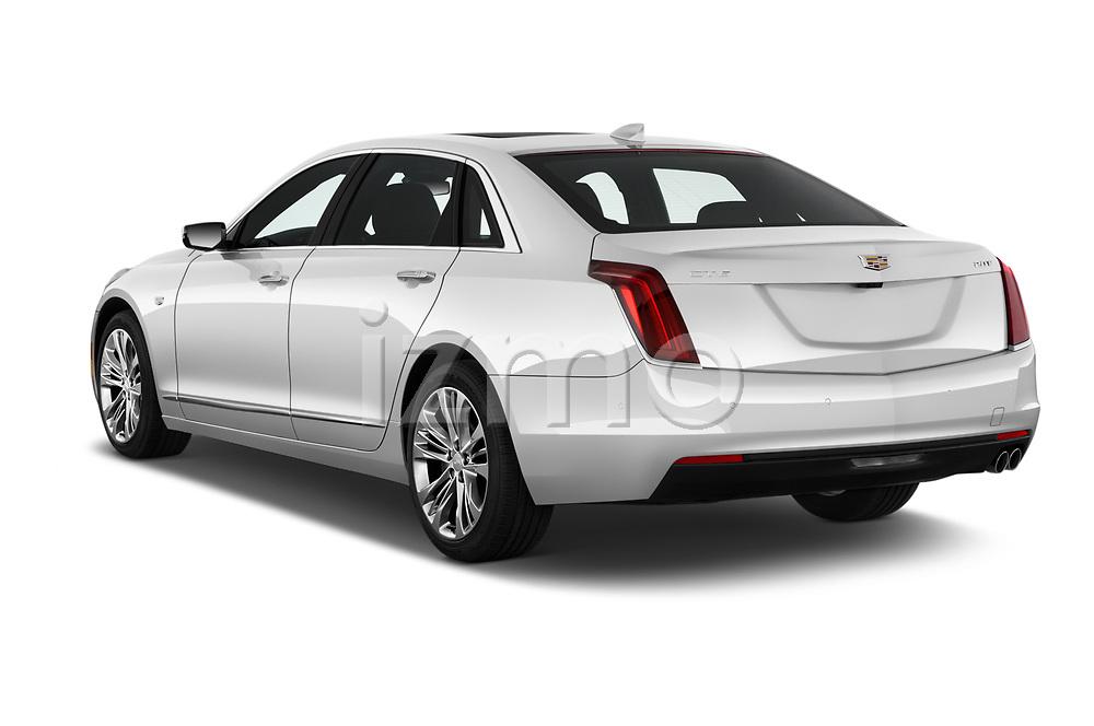 Car pictures of rear three quarter view of 2019 Cadillac CT6 Luxury 4 Door Sedan Angular Rear