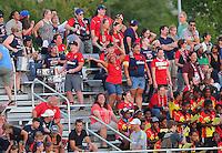 Boyds, MD - Saturday Sept. 03, 2016: Washington Spirit fans during a regular season National Women's Soccer League (NWSL) match between the Washington Spirit and the Western New York Flash at Maureen Hendricks Field, Maryland SoccerPlex.