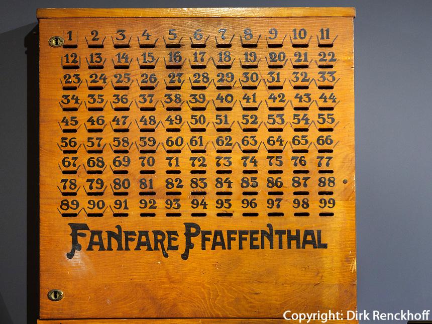 Sparverein Fanfare Pfaffenthal, Lëtzebuerg City Museum, 14 rue du Saint-Esprit, Luxemburg-City, Luxemburg, Europa<br /> , Luxembourg City, Europe