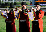 09 September 20: The buglers call the field to the post prior to the grade 1 Woodbine Mile Stakes for three year olds and upward at Woodbine Racetrack in Rexdale, Ontario.