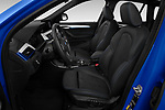 Front seat view of 2020 BMW X1 M-Sport 5 Door SUV Front Seat  car photos