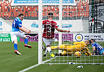 Hamilton Accies v St Johnstone…01.09.18…   New Douglas Park     SPFL<br />Blair Alston scores saints first goal<br />Picture by Graeme Hart. <br />Copyright Perthshire Picture Agency<br />Tel: 01738 623350  Mobile: 07990 594431
