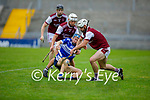 St Brendans Seamie Brosnan been well marked by Causeways Sean Sheehan and Anthony Fealy in the County Senior Hurling championship
