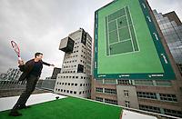 Rotterdam, The Netherlands, Februari 8, 2016,  ABNAMROWTT, Richard Krajicek (NED)<br /> Photo: Tennisimages/Henk Koster
