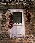 Door entry at Tubac, Arizona