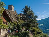 Reinhold Messner Museum Schloss Juval, Vinschgau, Region Südtirol-Bolzano, Italien, Europa<br /> Reinhold Messner Museum Castle Juval, Vinschgau, Region South Tyrol-Bolzano, Italy, Europe