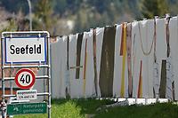 Portaits der Nationalspieler am Zaun des Trainingsgeländes - Seefeld 25.05.2021: Trainingslager der Deutschen Nationalmannschaft zur EM-Vorbereitung