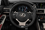 Car pictures of steering wheel view of a 2017 Lexus IS F-Sport-Line 4 Door Sedan Steering Wheel