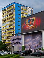 Club Adjarabet am Theaterplatz, Batumi, Adscharien - Atschara, Georgien, Europa<br /> club Adjarabet at theatre square,  Batumi, Adjara,  Georgia, Europe