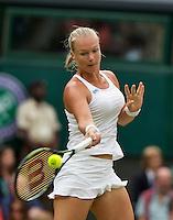 London, England, 2 July, 2016, Tennis, Wimbledon, Kiki Bertens (NED)<br /> Photo: Henk Koster/tennisimages.com
