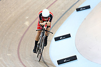 Jotny Harris competes in the U19 3000M IP during the 2020 Vantage Elite and U19 Track Cycling National Championships at the Avantidrome in Cambridge, New Zealand on Saturday, 25 January 2020. ( Mandatory Photo Credit: Dianne Manson )