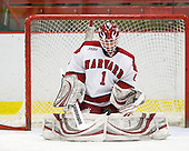 John Riley (Harvard - 1) - The Colgate University Red Raiders defeated the Harvard University Crimson 4-2 (EN) on Saturday, February 20, 2010, at Bright Hockey Center in Cambridge, Massachusetts.