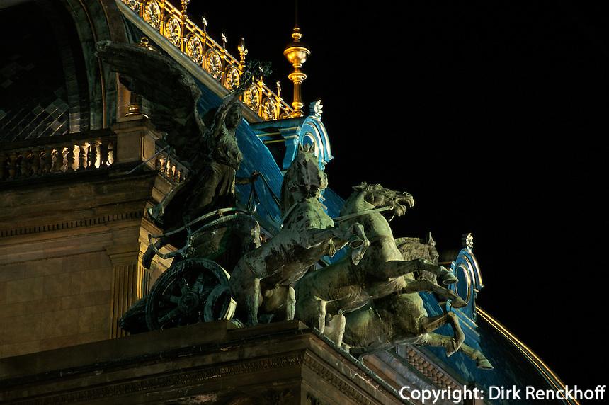 Tschechien, Prag, National--Theater Narodni Divadlo; Unesco-Weltkulturerbe