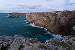 Cliffs St. Vincente, the most South West corner of Protugal and Mainland Europe.