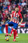Yannick Ferreira Carrasco of Atletico de Madrid in action during the La Liga 2017-18 match between Atletico de Madrid and Girona FC at Wanda Metropolitano on 20 January 2018 in Madrid, Spain. Photo by Diego Gonzalez / Power Sport Images2