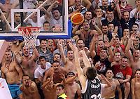 Delije Sever Agroziv superliga, Partizan - Crvena Zvezda play off 3  kosarka, basketball, Belgrade, Serbia, 15 June 2012. Belgrade, Serbia (credit: Pedja Milosavljevic/thepedja@gmail.com/+381641260959).