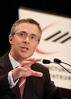 Thierry Vandal, prÈsident  directeur general , Hydro Quebec <br /> Photo : Delphine Descamps - Images Distribution