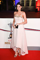 Lilah Parsons<br /> at the Millies 2016, Guildhall, London.<br /> <br /> <br /> ©Ash Knotek  D3212  14/12/2016